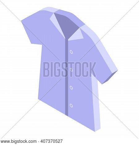 School Uniform Shirt Icon. Isometric Of School Uniform Shirt Vector Icon For Web Design Isolated On