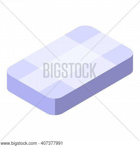 Brilliant Stone Icon. Isometric Of Brilliant Stone Vector Icon For Web Design Isolated On White Back