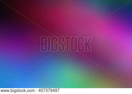 Blur Color Abstraction, Modern Blurred Colorful Mixed Background. Soft Colors. Vibrant And Smooth Gr