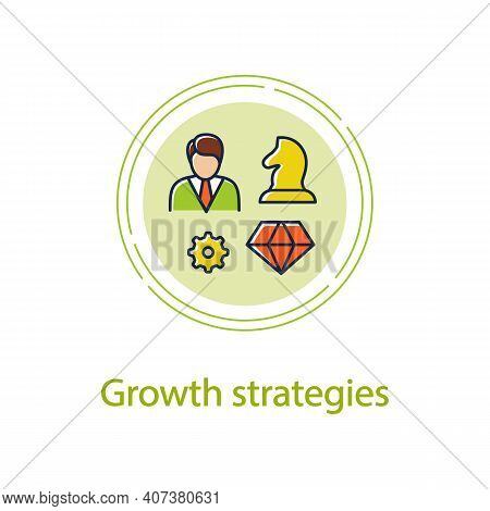 Personal Growth Strategies Concept Line Icon. Personal Growth Concept. Self Improvement Strategies A