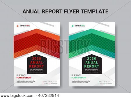 Anual Reporat Business Conference Corporate Flyer Brochure Template Design, Abstract Business Flyer,