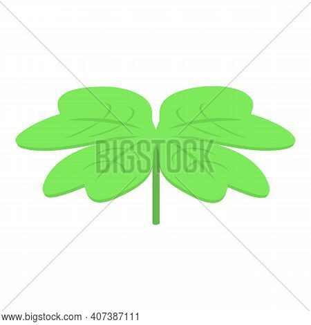 Clover Leaf Icon. Isometric Of Clover Leaf Vector Icon For Web Design Isolated On White Background