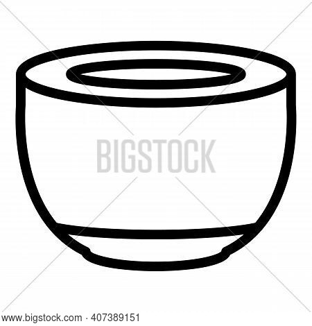 Coffee Capsule Icon. Outline Coffee Capsule Vector Icon For Web Design Isolated On White Background