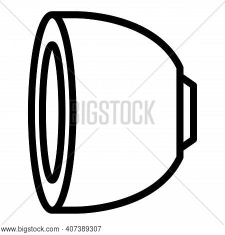 Coffee Pod Icon. Outline Coffee Pod Vector Icon For Web Design Isolated On White Background