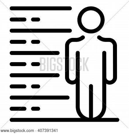 Criminal Arrest Icon. Outline Criminal Arrest Vector Icon For Web Design Isolated On White Backgroun