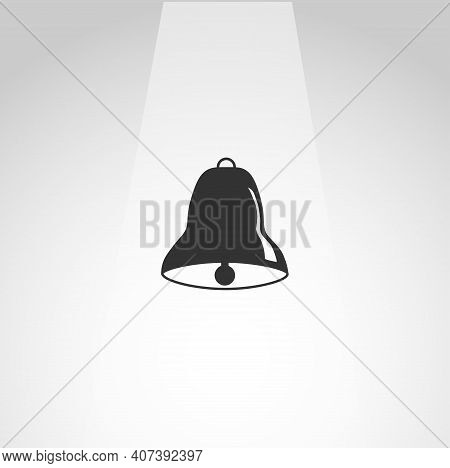 Bell Vector Icon, Bell Simple Isolated Icon