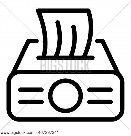 Restaurant Handkerchief Icon. Outline Restaurant Handkerchief Vector Icon For Web Design Isolated On
