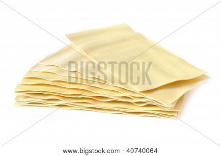Several Lasagna Sheets