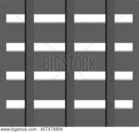 Vector Abstract Background With A Checkerboard Pattern, Three-dimensional Elements