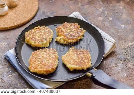 Spoon The Rice Mixture Out With A Tablespoon. Fry The Pancakes For 3-4 Minutes Over Low Heat. Serve