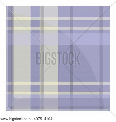 Handkerchief Icon. Cartoon Of Handkerchief Vector Icon For Web Design Isolated On White Background