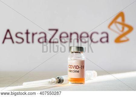Illustrative Editorial Astra Zeneca Covid-19 Vaccine