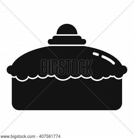 Confectioner Cake Icon. Simple Illustration Of Confectioner Cake Vector Icon For Web Design Isolated