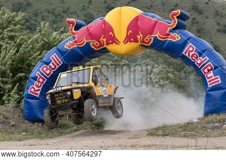 Ankara, Turkey - May 28, 2016: Several Pilots Compete At An Off-road Racing Event That Is Part Of Th