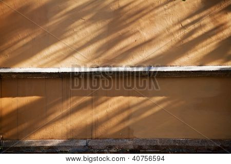 Grange Wall With Shadows Texture