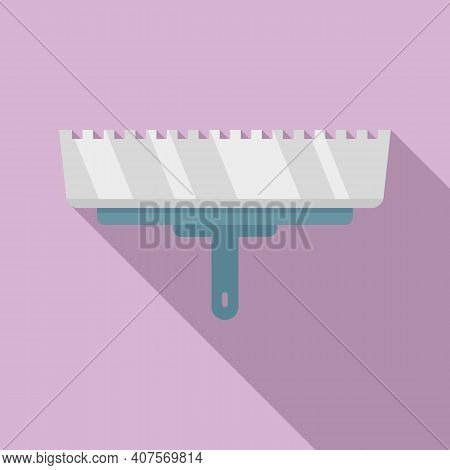 Putty Knife Dirty Icon. Flat Illustration Of Putty Knife Dirty Vector Icon For Web Design