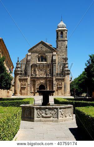 El Salvador Church, Ubeda, Andalusia, Spain.