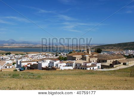 White village, Bornos, Andalusia, Spain.