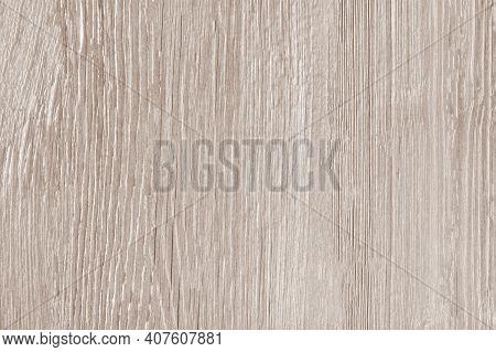 Wood Texture As Background, Distinct Wood Grain.