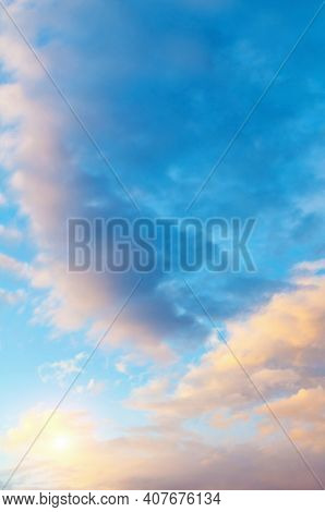 Sunset sky background,sky with pink clouds,sunset sky, sky background,picturesque sky,vast sky landscape Sky landscape.Sky background.Dramatic blue sky background,vast sky landscape,sky panoramic scene,sunny sky, sky landscape,sky view