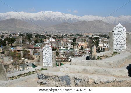 Graveyard In Kabul
