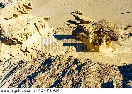 Rock Formations Bolnuevo, Spain