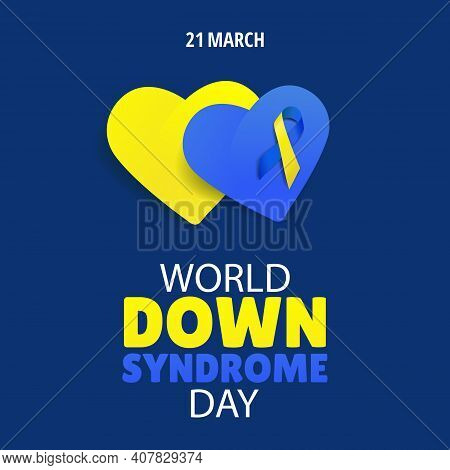 Vector Illustration Of World Down Syndrome Day