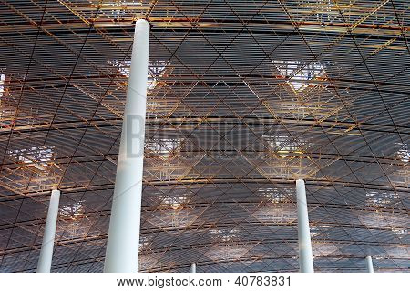 Abstract Airport Roof