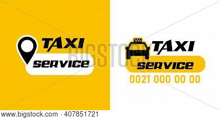 Car Taxi Icon. Public Transport Design. Taxi Cab. Flat Style Eps 10