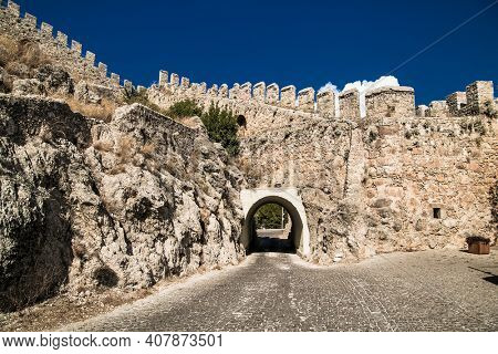 Alanya Castle or Alanya Kalesi is a medieval castle in Alanya city, Antalya Province on the southern coast of Turkey.