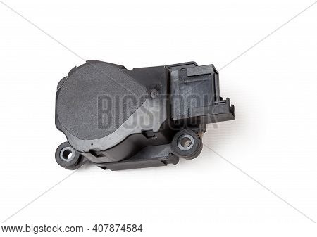 Heater Flap Motor - Spare Part And Element Of Car Air Conditioning System For Directing Air Into The