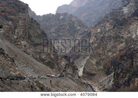 Traffic Jam In Afghanistan