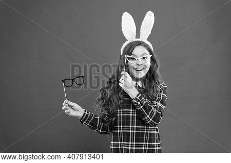Traditional Party Activities. Smart Bunny. Eyewear Booth Props. Little Cute Bunny. Having Fun. Schoo