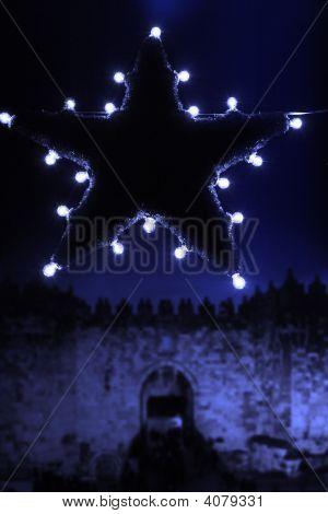 Christmas Star Jerusalem