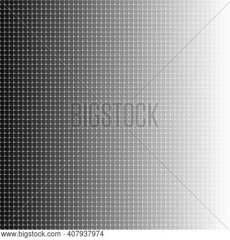 Halftone Tiles Gradient Geometric Art Eps10 Vector Illustrarion.