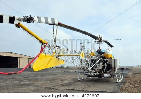 Crop Duster Helicopter