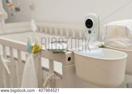 Picture Of A Baby Monitor, Camera A In  Child Room