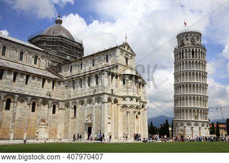 Pisa (pi), Italy - June 10, 2017: The