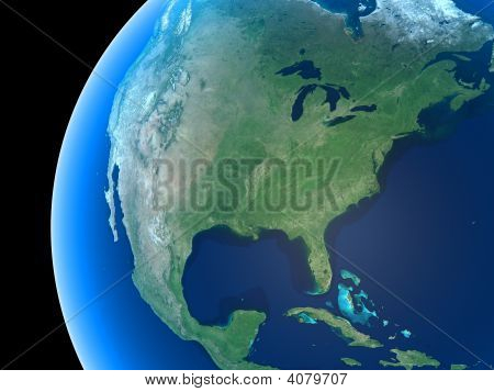 Earth - North America