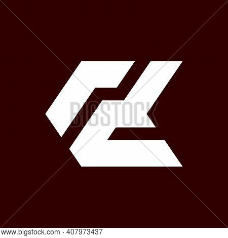 Initial Letter Rd Logo Template With Sporty Geometric Arrow Line Art Illustration In Flat Design Mon