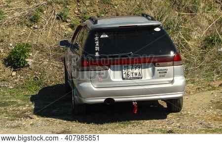 Kazakhstan, Ust-kamenogorsk, May 2, 2020: Subaru Legacy Second Generation (1993-1999) - Bd, Bg, Bk