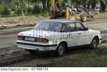 Kazakhstan, Ust-kamenogorsk, May 15, 2020: Gaz 3110 Volga. Russian Car