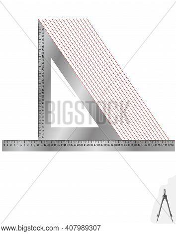 Лінійка метал+косинець3