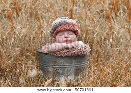 Newborn In The Fall