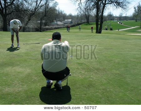 Line Up The Putt