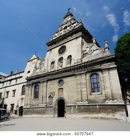 Bernardine Church And Monastery In Lviv,Western Ukraine