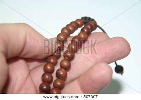 Brown Prayer Beads Iii