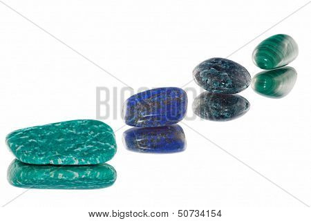 Precious Stones With Reflection