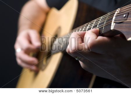 Bouzouki Acoustic Guitar