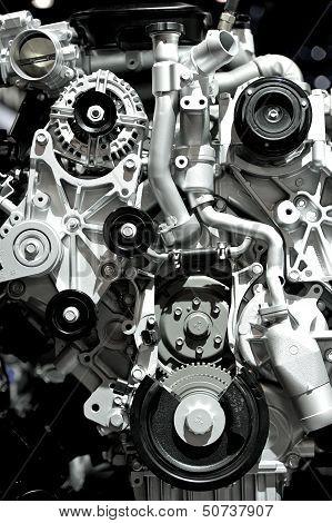Aluminium Car Engine
